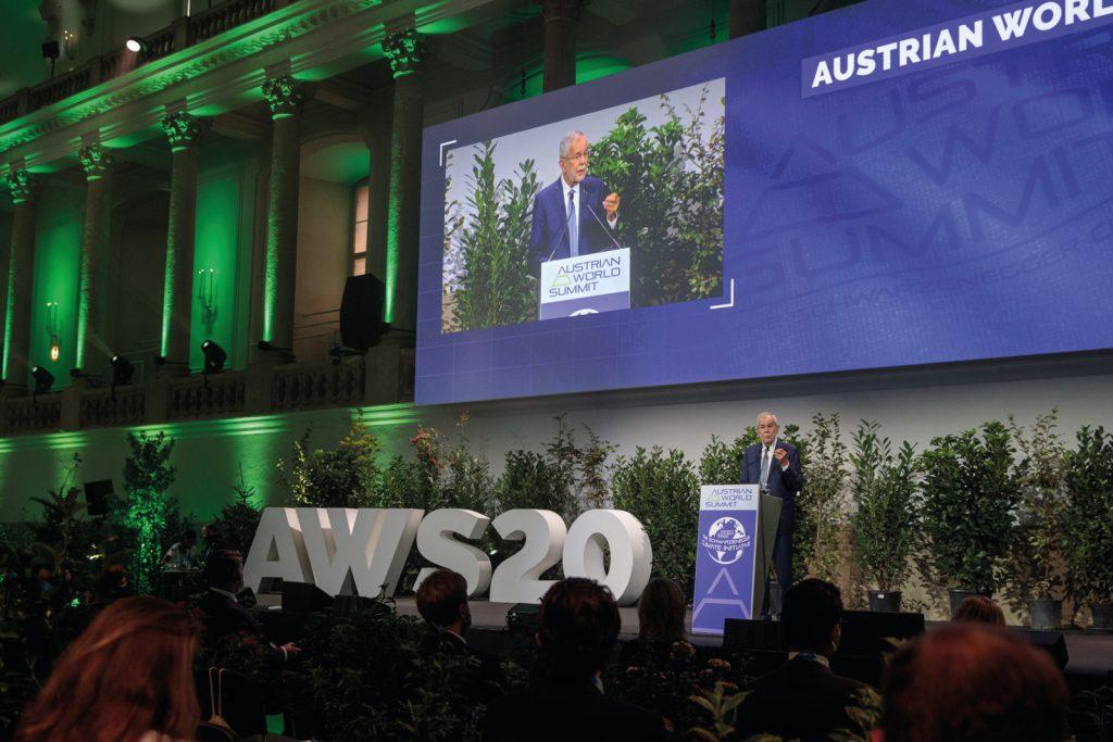 AUSTRIAN WORLD SUMMIT mit BP Van der Bellen